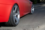 Felgi czerwonego BMW - przykład